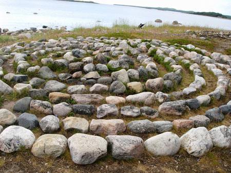 Каменные Лабиринты в Карелии