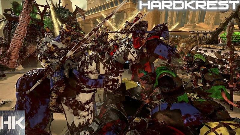 Total War Warhammer 2 прохождение Legendary Скрайр =34= Коварный авторасчет