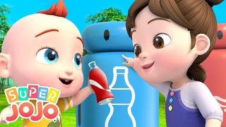 Сортируй мусор – спасай планету! | Новый сборник песенок для малышей | Детские песенки | Super JoJo