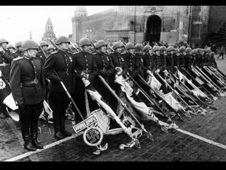 Победа, 1945 г., фильм 1, безоговорочная капитуляция,  документальные кадры HD