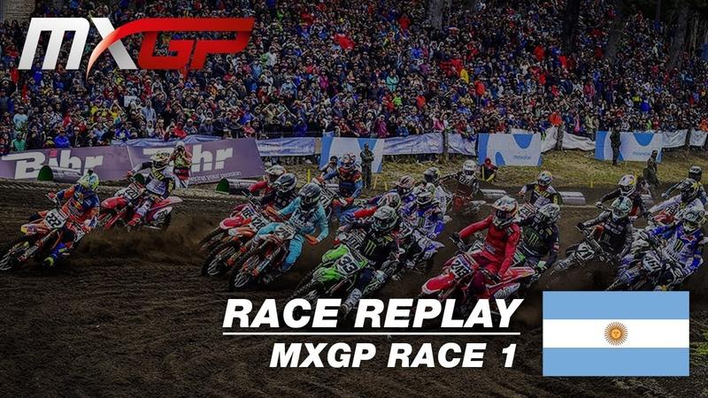 MXGP of Patagonia Argentina 2019 Replay MXGP Race 1 Motocross