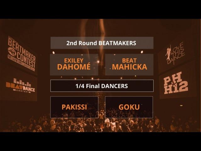 Beatdance Contest 2017 - 14 final Battle - (Pakissi vs Goku - Exiley Dahomé vs Beat Mahicka)