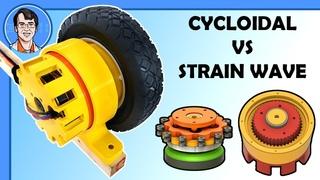 Testing: Cycloidal vs Harmonic Drive 3D Printed Reducers