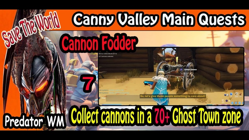Cannon Fodder Canny Valley Main Quests 59 Save the world