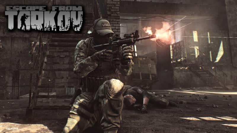 Escape from Tarkov 10LVL RUS ENG Упарываемся в квесты 18