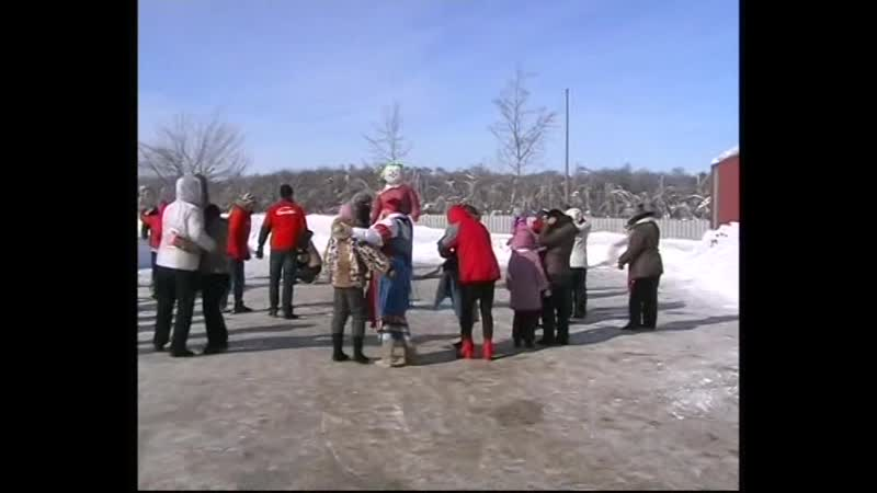 Масленица на лыжной базе ''Берёзка'',(2010г)!