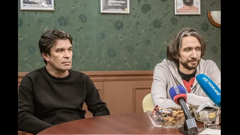 Юрий Каспарян и Александр ЦОЙ в Архангельске 21 10 2020