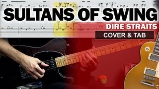 COVER & TAB: Sultans of Swing (Guitar Cover with Original Solos and Tabs)