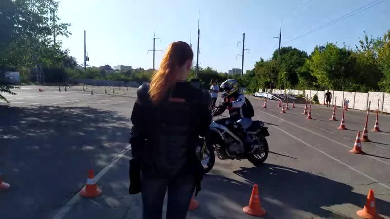 Мастер-класс по безопасному управлению мотоциклом. Часть 2