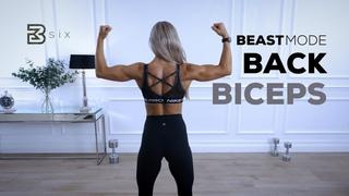 День 6: Спина и бицепсы - Интенсивная тренировка верхней части тела. BEASTMODE BACK AND BICEPS - Intense Upper Body Workout | Day 6