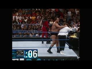 WWF SmackDown  - the Rock vs Kane vs Mankind vs Big Show vs UndertakerHD