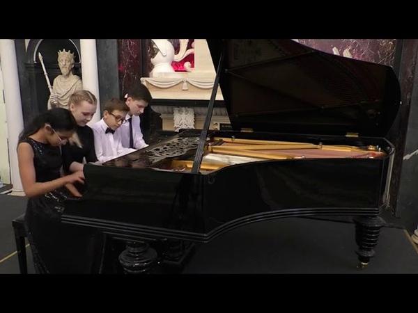Фортепианный квартет в составе Десенко Юлия Егязарян Арианна Мороз Матвей Оржеховский Даниил