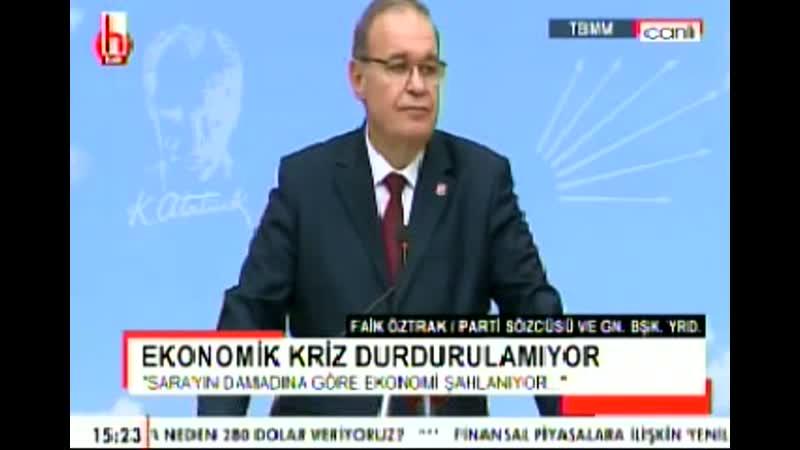 FAİK ÖZTRAK BASIN TOPLANTISI DIŞ POLİTİKA EKONOMİ 21 2 2020 CUMA