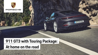 The new Porsche 911 GT3 with Touring Package