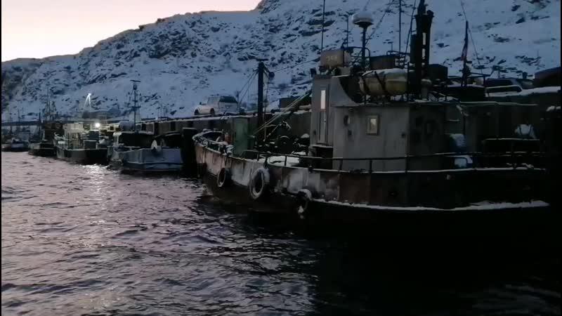 Стальные воды Баренцева моря