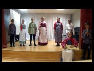 Детская фольклорная студия «Pilli», Пряжа -  ПЕРВАЯ ПЕСНЯ