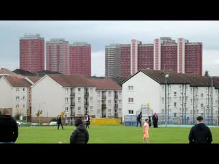 Red road flats demolition robroyston park