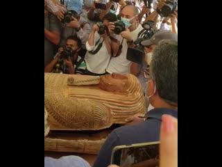 В Египте нашли 59 саркофагов с мумиями