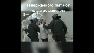 Полицейские избивают лежащих на земле женщин, пытают человека электрошокером