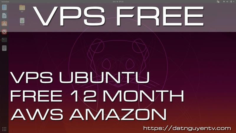 VPS Free Tạo VPS Ubuntu 12 Tháng Tại AWS Amazon Cài giao diện người dùng cho vps Linux