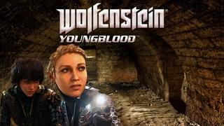 Секретная база, совместное прохождение Wolfenstein Youngblood Часть 8