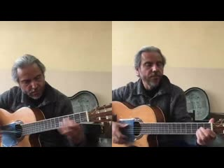 Игра ручкои на гитаре (Моцарт-Турецкии марш)-Garri Pat