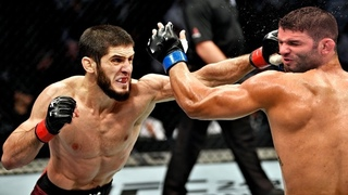 ИСЛАМ МАХАЧЕВ ПОБЕДИЛ ТИАГУ МОЙЗЕС Весь бой UFC MAKHACHEV vs MOISES прямая трансляция повтор онлайн