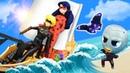 Игры для девочек - Леди Баг и СуперКот отправляются в Путешествие! - Сборник видео с куклами.
