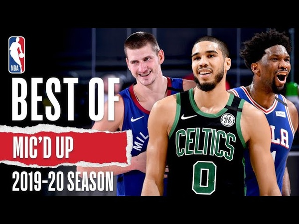 The Best Sounds Mic d Up Moments 2019 20 Season
