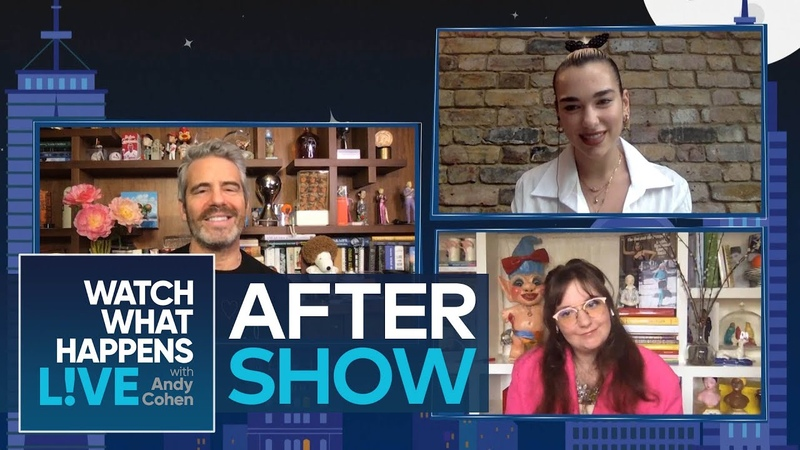 After Show How Often Does Lena Dunham Talk to the 'Girls' Cast WWHL
