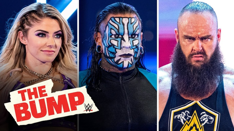 Video@alexablissdaily Alexa Bliss Jeff Hardy Braun Strowman and more WWE's The Bump March 20 2020