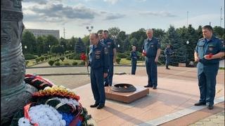 День памяти и скорби. Сотрудники МЧС России почтили память погибших в Великой Отечественной войне