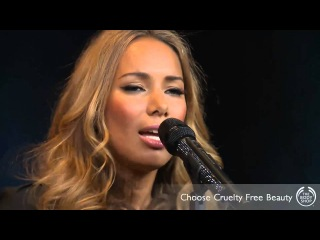 Leona Lewis - Cruelty Free Beauty Gig for The Body Shop - Beauty With Heart