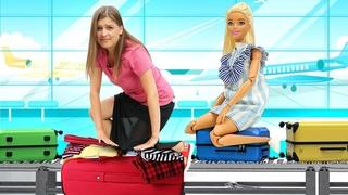 Кен не может улететь к Барби - Игры квест ищем игрушки - Видео игры Той Клаб и куклы Барби