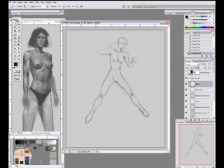 Female IV Muscle Motion & Movement - 8