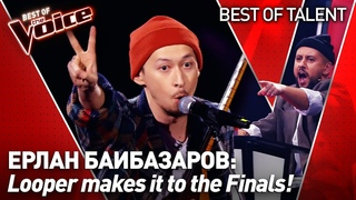 CHARISMATIC looper makes the Coaches go CRAZY in The Voice