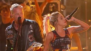 Metallica & Lady Gaga - Moth Into Flame (rehearsal)