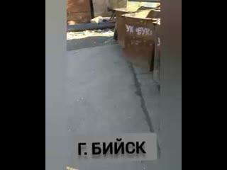 Участник Афгана уже неделю спит на трубах г. Бийск