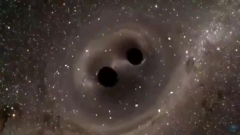 Первое прямое наблюдение гравитационных волн зафиксировало слияние двух черных дыр которые испустили 3 6 септиллиона йоттаватт
