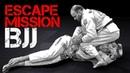 BJJ win strategy - Side Control Ecape Jiu Jitsu MMA Martial Arts
