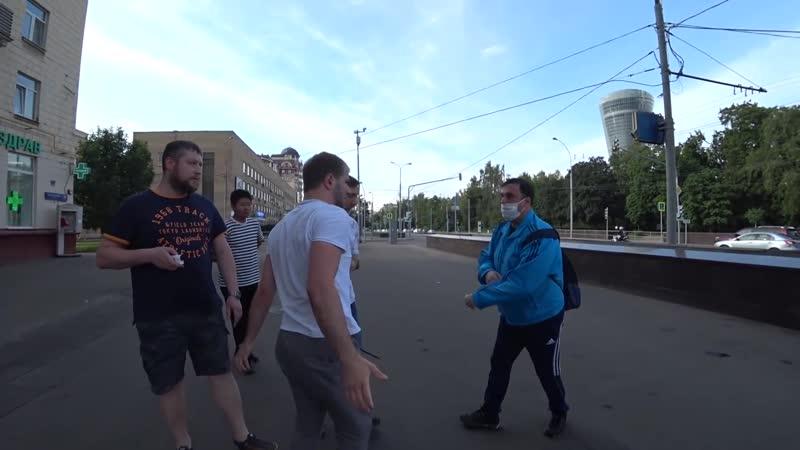 СтопХам Москва 332 Разговор с чурками