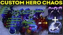 АБУЗ БЕССМЕРТИЯ(ПОЧТИ) МИЛЛИОН ЭЙДАЛОНОВ В КАСТОМКЕ CUSTOM HERO CHAOS