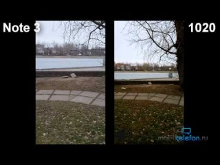 Galaxy Note 3 vs Lumia 1020: сравнение видеокамер (camera comparison)