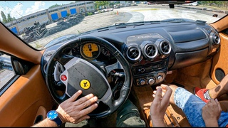 Ferrari F430 Coupe [4.3 I V8 490HP] | POV Road to Drift King #2 Joe Black
