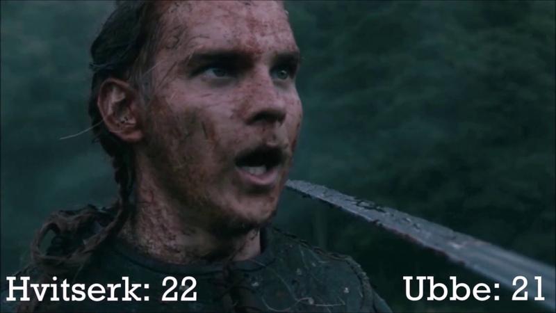 Ubbe vs Hvitserk Kill Count