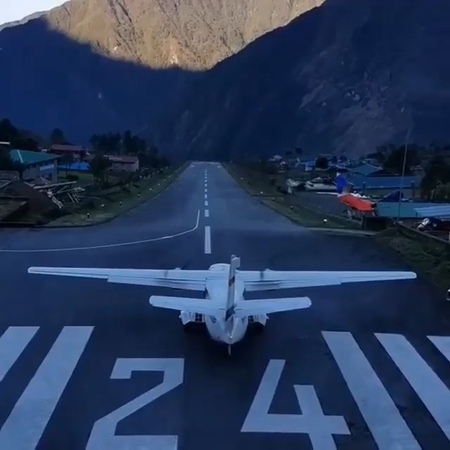 """P I L O T S TV 📺 on Instagram """"The World's Dangerous Airport Guess where 👇 ➖➖➖➖➖➖➖➖➖➖➖➖ 📸 @mountain.trekking ➖➖➖➖"""