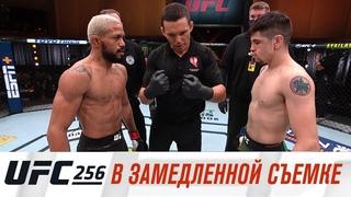 UFC 256: В замедленной съемке