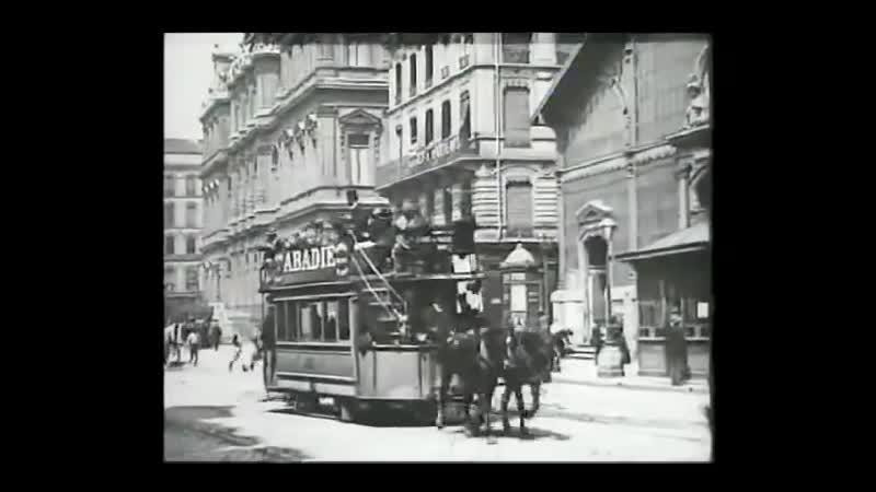 Площадь Корделье В Лионе 1895 Place Cordelier In Lyon 1895