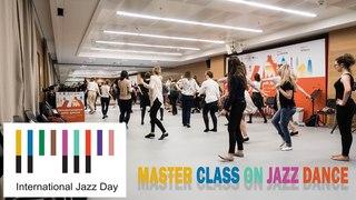 Мастер класс по джазовому танцу Jazz Day 2018   Master class on jazz dance w/ Alina Sokulska   Zyablow Media