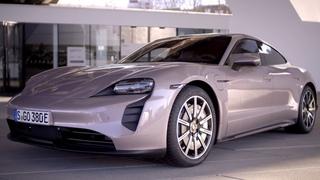 2021 Porsche Taycan - Frozen Berry Color